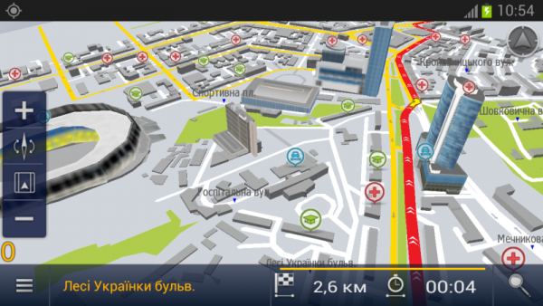 Навигатор + видеорегистратор «E2M КартБланш Украина»
