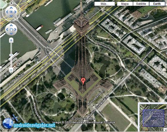 карты Гугл для Андроид