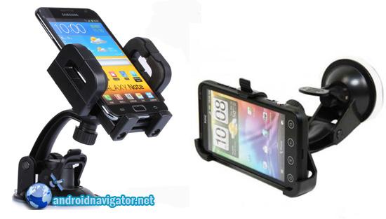 держатели для смартфонов-навигаторов в автомобиль