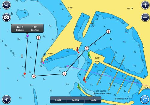 Android навигатор для судов и кораблей